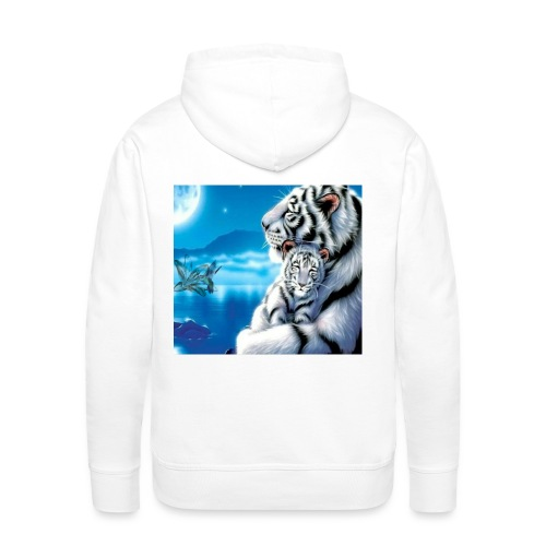 Tygrysy - Bluza męska Premium z kapturem