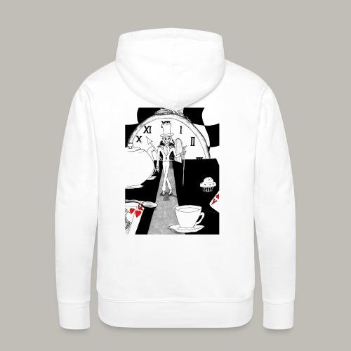 Le Chapelier - Sweat-shirt à capuche Premium pour hommes