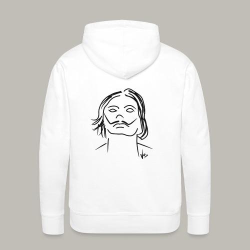 Little piece of Salvador - Sweat-shirt à capuche Premium pour hommes