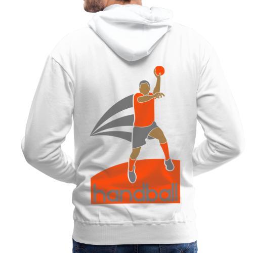 Handballer - Sweat-shirt à capuche Premium pour hommes