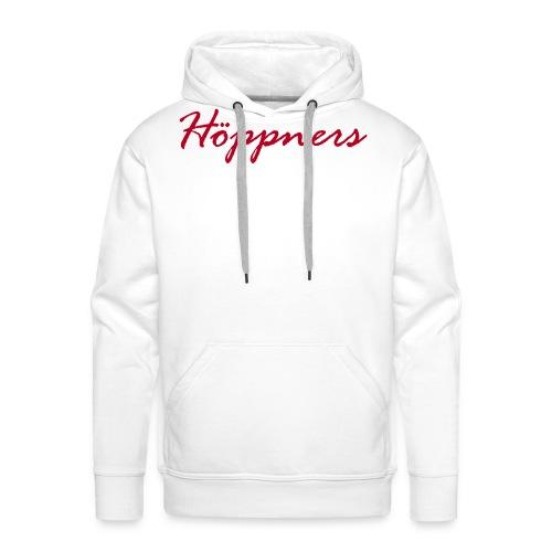 hoeppners schriftzug vektor - Männer Premium Hoodie