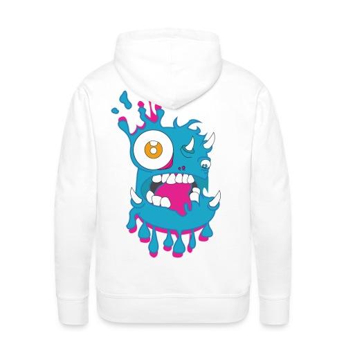 Monster Splash - Sweat-shirt à capuche Premium pour hommes