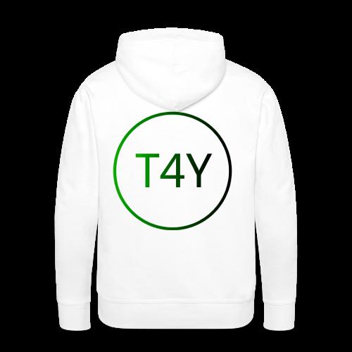 T4Y Dot - Männer Premium Hoodie
