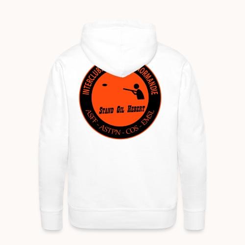 Logo Interclubs - Sweat-shirt à capuche Premium pour hommes