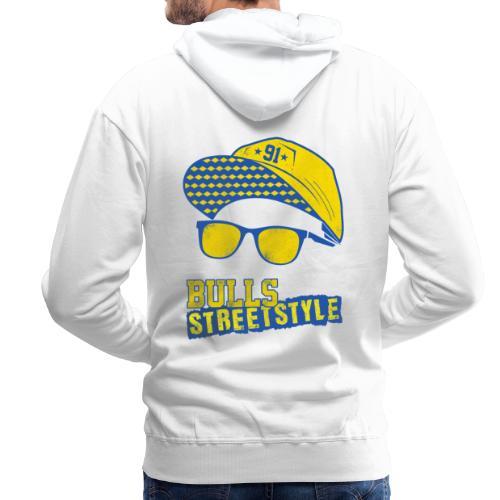 Bulls Streetstyle Yellow - Männer Premium Hoodie