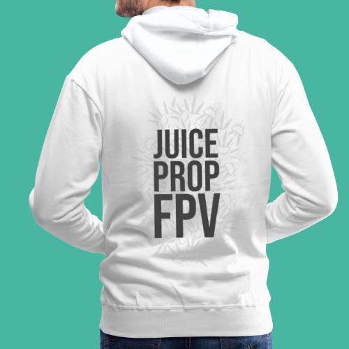 JuicePropFPV LOGO Pile Text Only - Männer Premium Hoodie