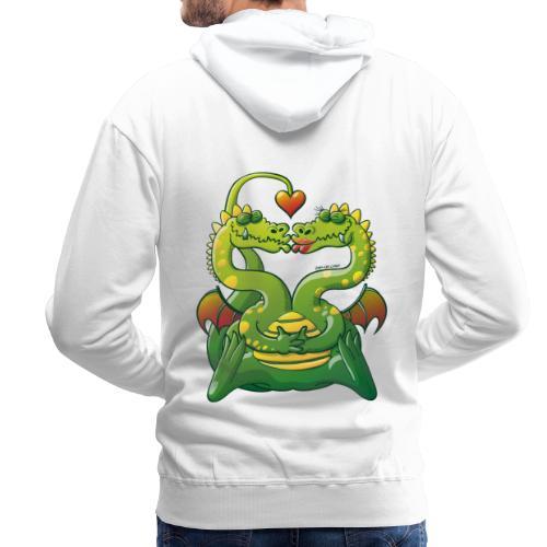 Dragons Madly in Love - Men's Premium Hoodie
