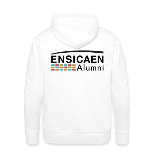 Collection Ensicaen alumni - Sweat-shirt à capuche Premium pour hommes