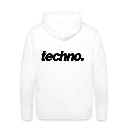 techno. - Männer Premium Hoodie