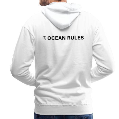 oceanrules black - Männer Premium Hoodie