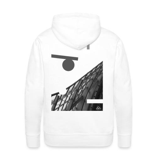 . H A L K O . - Sweat-shirt à capuche Premium pour hommes