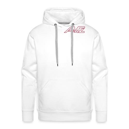 Logo AMZ rot schrift - Männer Premium Hoodie