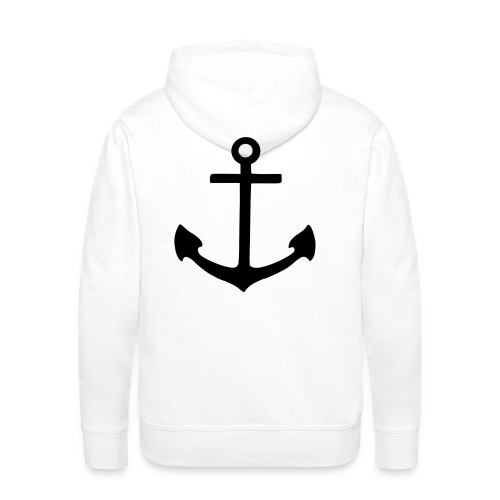 2000px Anchor pictogram svg png - Men's Premium Hoodie