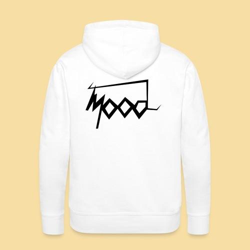 stussy mood noire noire noire png - Sweat-shirt à capuche Premium pour hommes