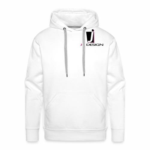 LOGO _ J-J DESIGN_Spreads - Herre Premium hættetrøje