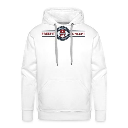 FFC_logo_standard_trans - Sweat-shirt à capuche Premium pour hommes