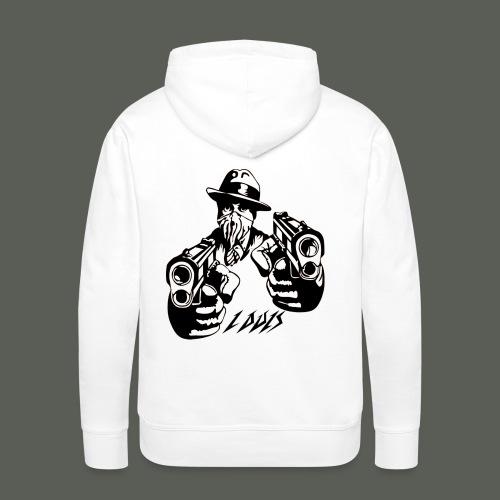 Louis Logo2 black - Männer Premium Hoodie