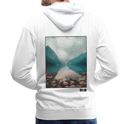 REED Backprint See - Männer Premium Hoodie