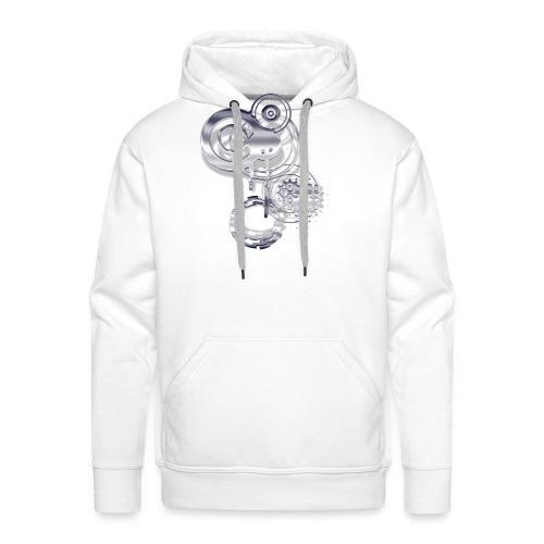 crop circle 2 - Sweat-shirt à capuche Premium pour hommes