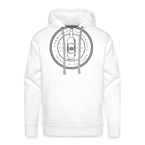 white without brand png - Männer Premium Hoodie