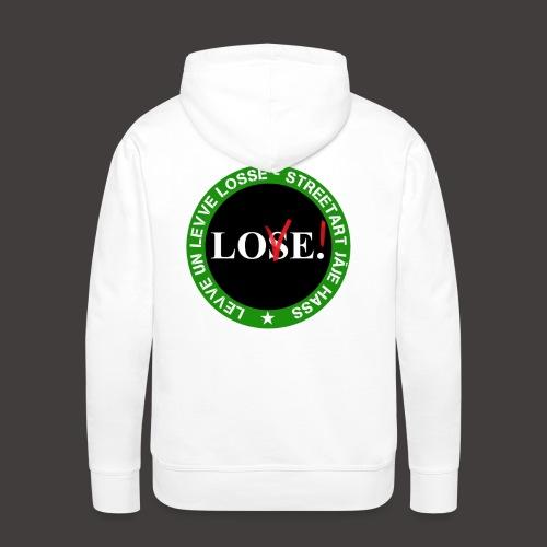 Lo(S/V)e - Sweat-shirt à capuche Premium pour hommes