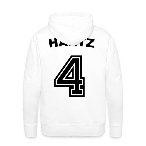 Hartz 4 Fußball Trikot Rückseite! - Männer Premium Hoodie