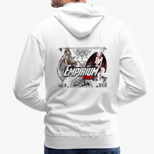 Anges et demons - Sweat-shirt à capuche Premium pour hommes