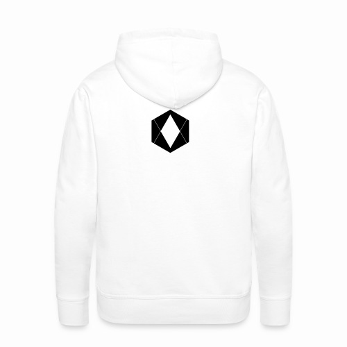 4am logo final black - Men's Premium Hoodie