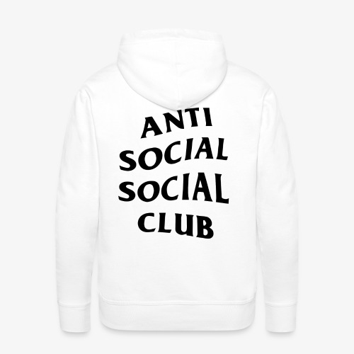 antisocialclub - Premiumluvtröja herr