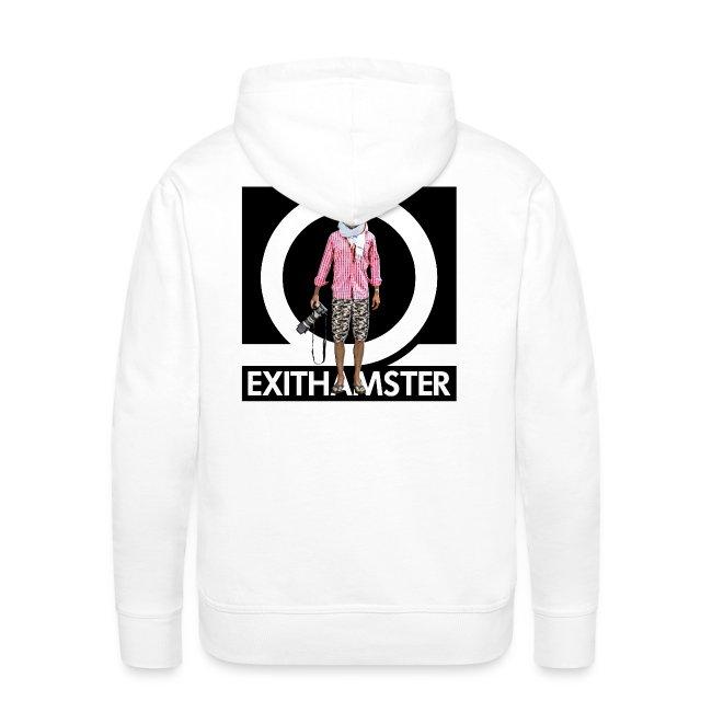 EXITHAMSTER LOGO BLACK BG