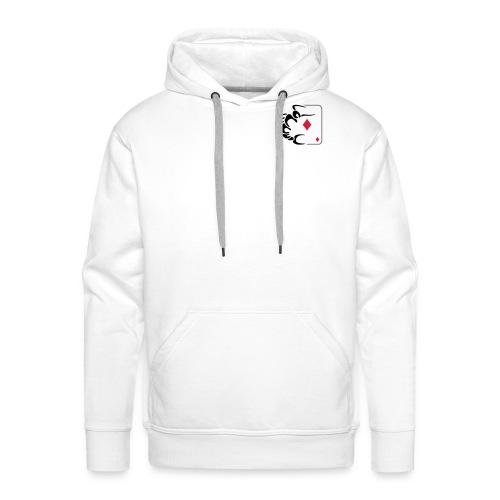 POPC Logo 02 - Sweat-shirt à capuche Premium pour hommes