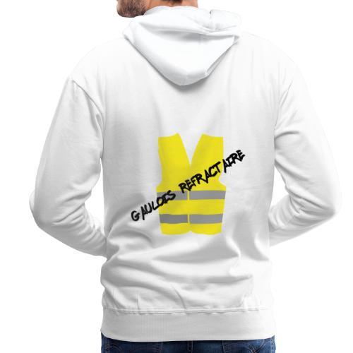 Gilet Jaune - Sweat-shirt à capuche Premium pour hommes