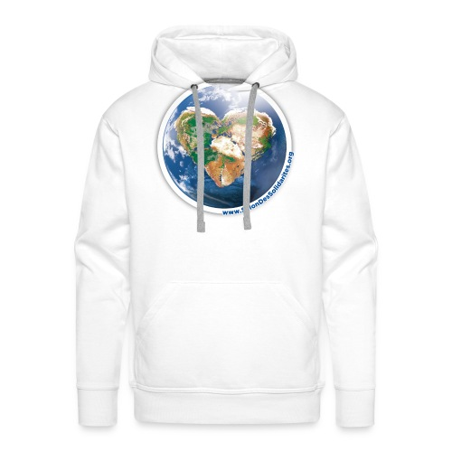 Un monde solidaire - Sweat-shirt à capuche Premium pour hommes