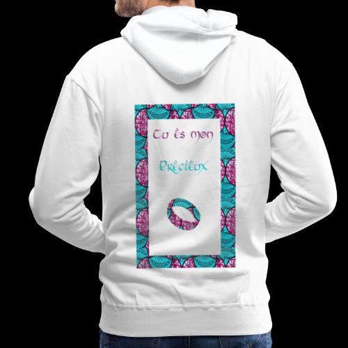 Tu Est Mon Précieux - Sweat-shirt à capuche Premium pour hommes