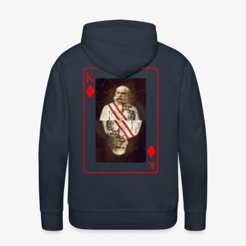 Kaiser Franz von Österreich spielkarte - Männer Premium Hoodie