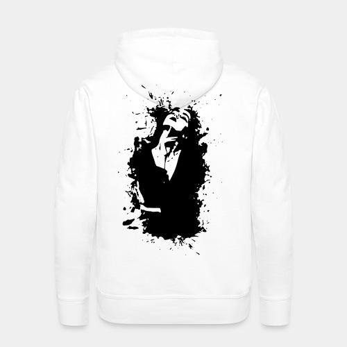2reborn artwork kunst frau woman fashion beauty re - Men's Premium Hoodie