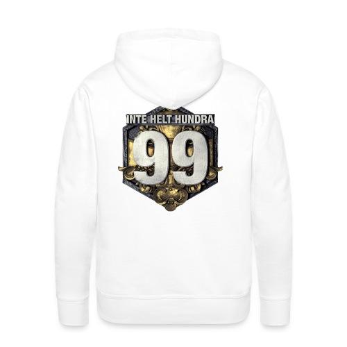 99 logo t shirt png - Premiumluvtröja herr