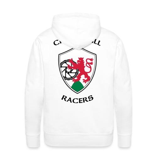 Crownhill Flexdruck Flat - Männer Premium Hoodie