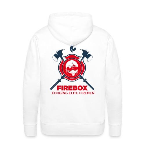 Firebox version fond clair png - Sweat-shirt à capuche Premium pour hommes