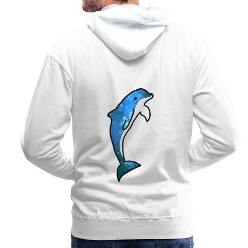 DAUPHIN ÉTOILÉ - Sweat-shirt à capuche Premium pour hommes