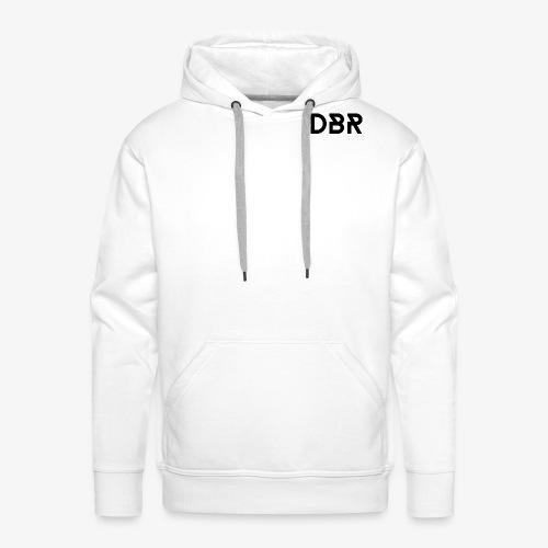 DBR Schriftzug png - Männer Premium Hoodie