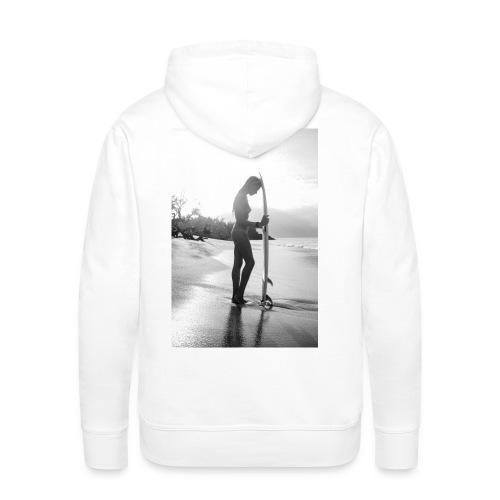 Surfgirl Nude - Sudadera con capucha premium para hombre