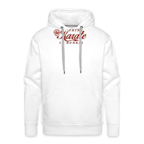 CocaCola Karate gross png - Männer Premium Hoodie