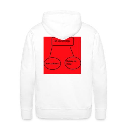 HGH T shirt - Men's Premium Hoodie