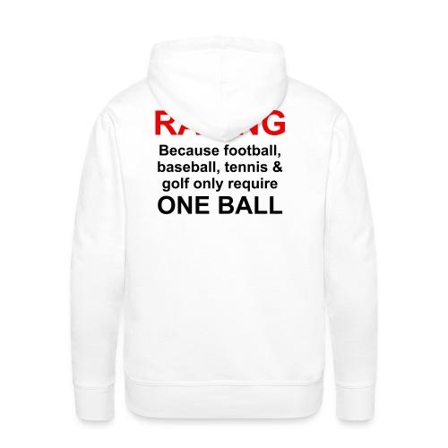 balls_001 - Männer Premium Hoodie