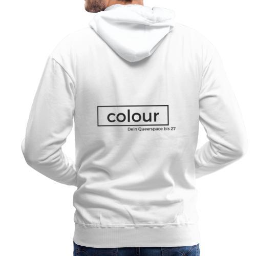 colour.Siegen Schwarz - Männer Premium Hoodie
