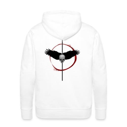 craneaileslance - Sweat-shirt à capuche Premium pour hommes