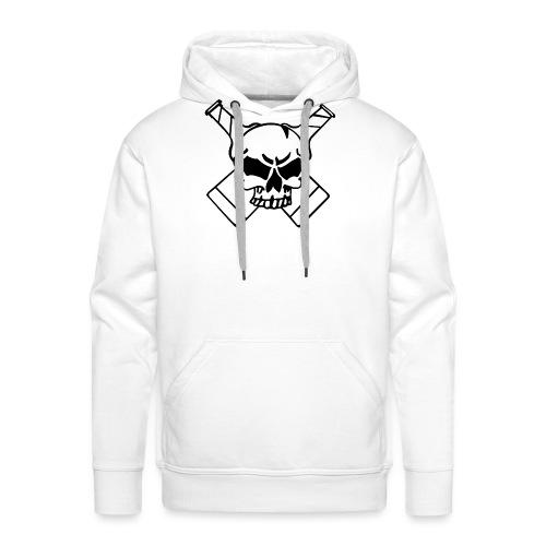 Skull png - Männer Premium Hoodie