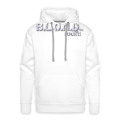 logo hell basis 4000px - Männer Premium Hoodie