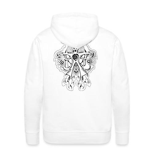 Hert - Mannen Premium hoodie
